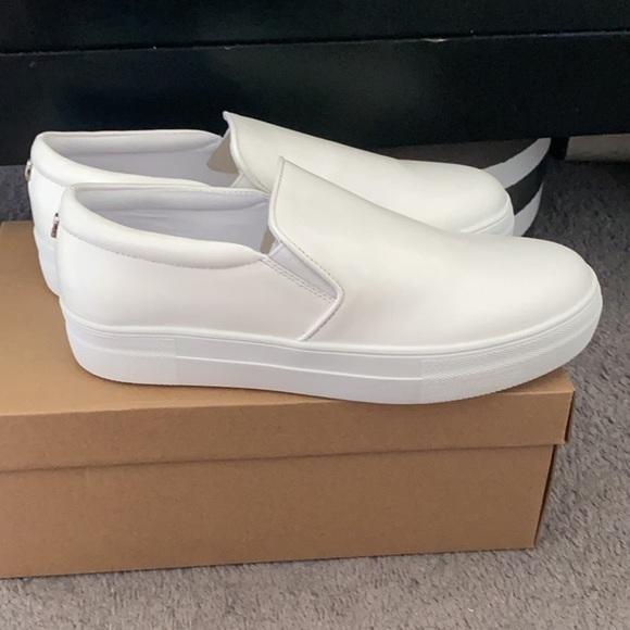 Steve Madden Gills White Leather